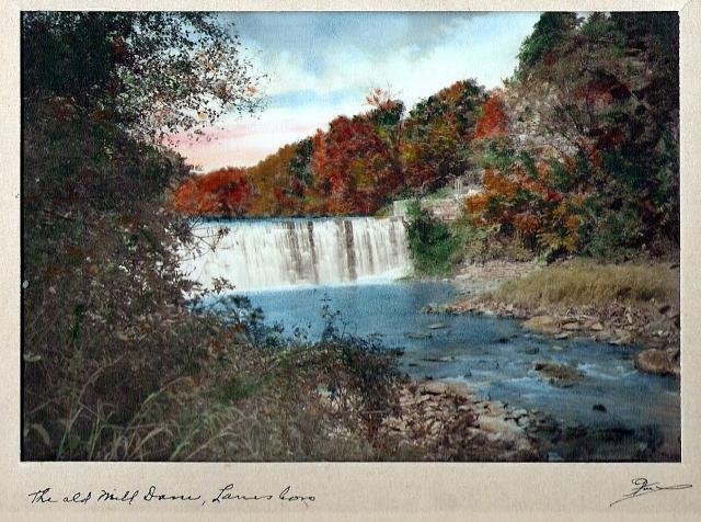 Old Mill Dam at Lanesboro